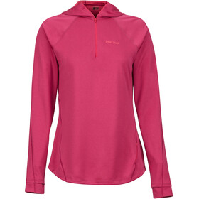 Marmot Indio 1/2 Zip Jacket Women Sangria